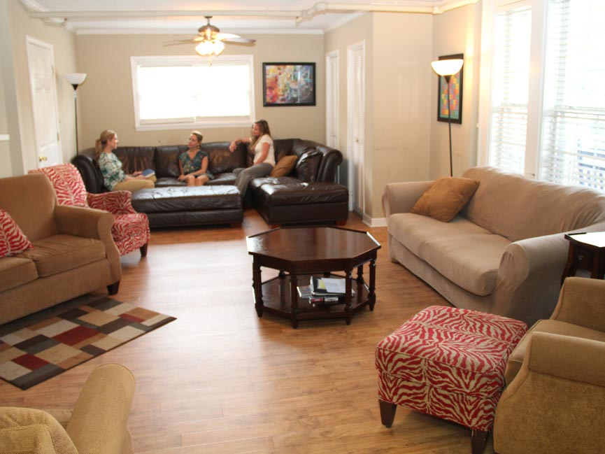 Women's Residence - living area - Willingway Addiction Treatment Center in Georgia -