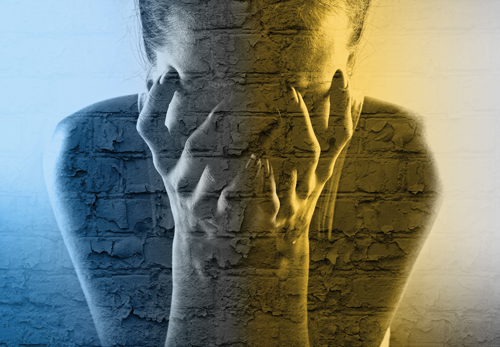 managing depression and anxiety without medication - depressed person - willingway