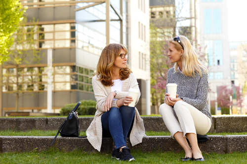 Should you keep your Sobriety Confidential or Candid - women talking - willingway