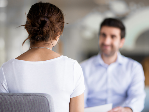 how to tell your employer you are battling an addiction - woman talking to her boss - willingway