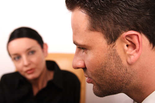 Motivational Interviewing in Addiction Treatment - man talking to therapist - willingway