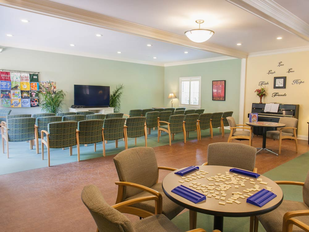 meeting room at Willingway addiction treatment center