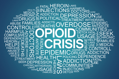 Opioids and How They Arrived to Georgia: A Brief History - opioid crisis words