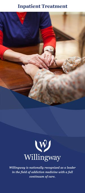 Willingway Inpatient Treatment Brochure - Statesboro Georgia addiction treatment center - residential drug rehab