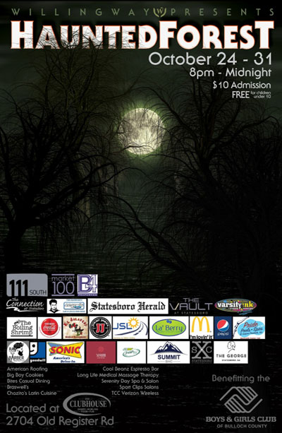 Haunted Forest - The Clubhouse in Statesboro, GA